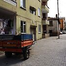 A street in Mürefte by rasim1