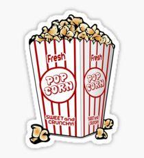 Popcorn Clipart  Sticker