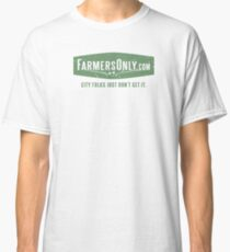 Farmers Only (green logo) Classic T-Shirt