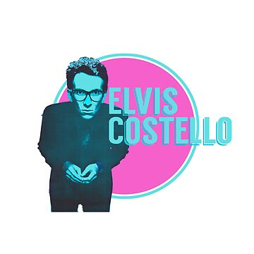 Elvis Costello Pop Art von peakednthe90s