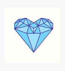 Love Diamond Art Print