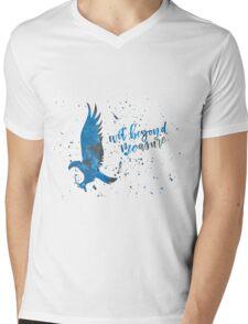 House Eagle Wit Beyond Measure Watercolor Mens V-Neck T-Shirt