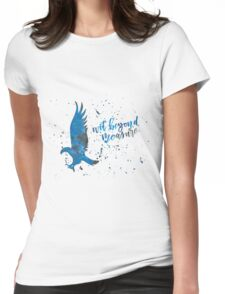 House Eagle Wit Beyond Measure Watercolor Womens Fitted T-Shirt