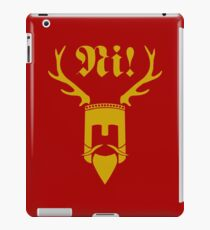 knights who say ni iPad Case/Skin