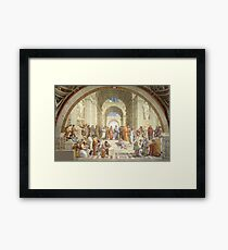 The School of Athens, Raphael Masterpiece Framed Print