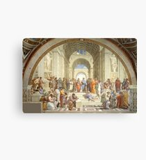 The School of Athens, Raphael Masterpiece Canvas Print