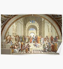 The School of Athens, Raphael Masterpiece Poster