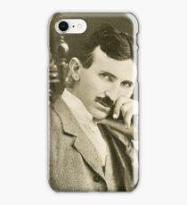 Nikola Tesla, Serbian-American Inventor iPhone Case/Skin