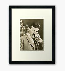Nikola Tesla, Serbian-American Inventor Framed Print
