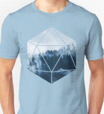 D20 - Misty Treetops Unisex T-Shirt