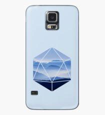 Funda/vinilo para Samsung Galaxy D20 - Montañas Nubladas