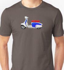 SX200 Dealership Blue Scooter Design Unisex T-Shirt
