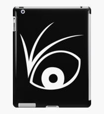 A Series of Unfortunate Events Eye (White) iPad Case/Skin