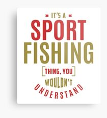 Sport Fishing Thing Metal Print
