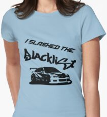 Slashed the Blacklist Womens Fitted T-Shirt
