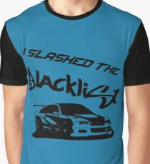 Slashed the Blacklist Graphic T-Shirt