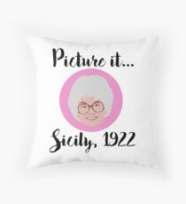 Picture it Throw Pillow