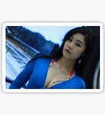 Blue Velvet Sticker