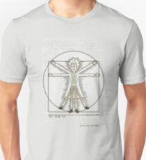 Vitruvian Rick T-Shirt
