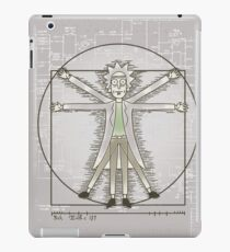 Vitruvian Rick iPad Case/Skin