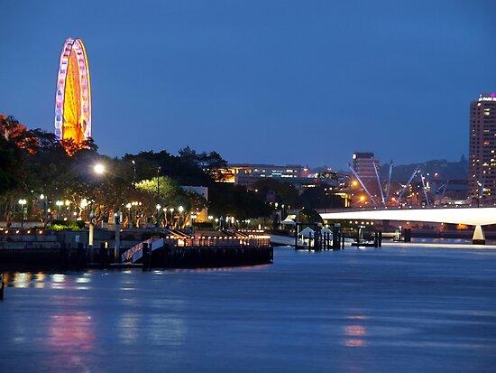Brisbane Wheel by W E NIXON  PHOTOGRAPHY