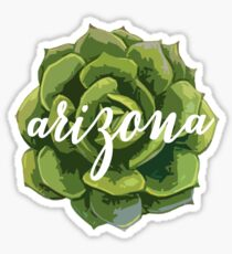Arizona Succulent Sticker