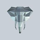 Low Poly Elephant by McBethAllen