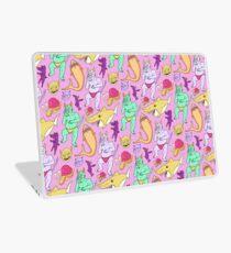 Paisley Pink Monsters Laptop Skin