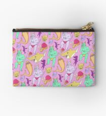 Paisley Pink Monsters Studio Pouch