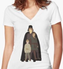 """""""Maybe Vader someday later"""" Women's Fitted V-Neck T-Shirt"""