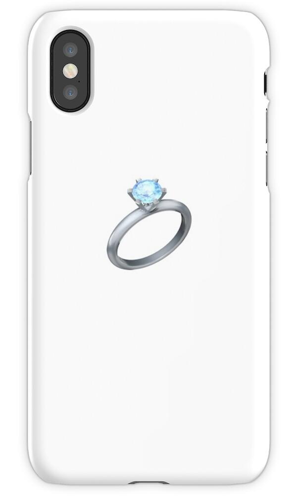 Diamond Ring Emoji By Lauren C