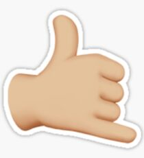 Hang Loose Emoji Sticker