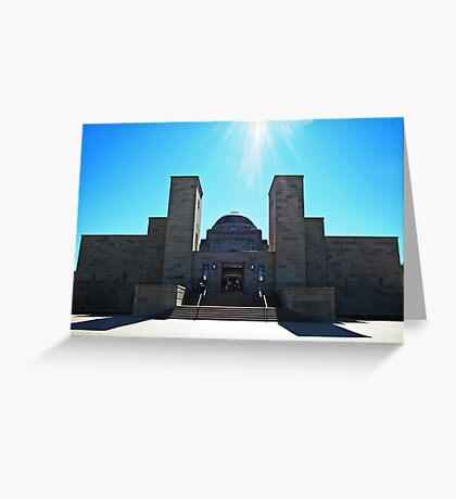Australian War Memorial Greeting Card