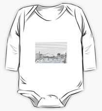 Firenze Italy a bridge over the Arno * One Piece - Long Sleeve