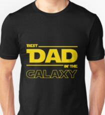 Best Dad In The Galaxy Slim Fit T-Shirt
