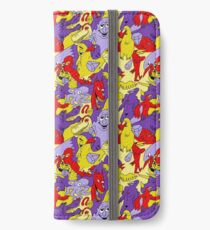 Bright Topless Bird Party iPhone Wallet/Case/Skin