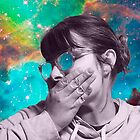Galaxies Gurl by Kelsey Weyerbacher