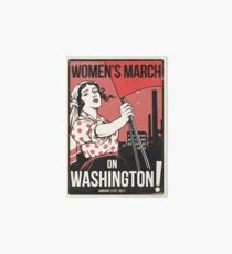 Womens March on Washington 2 (Vector Recreation) Art Board