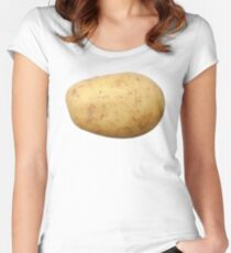 Potato Women's Fitted Scoop T-Shirt