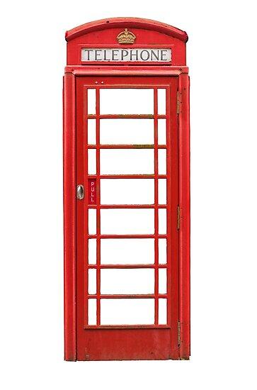 British Telephone Box by mrdoomits