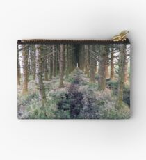 Beautiful Forest Print  Studio Pouch