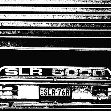 """Garaged"" SLR 5000 A9X Holden Torana T-shirt by trippytaka"
