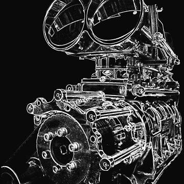 """Shottie"" - Supercharged V8 Engine by trippytaka"