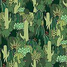 Cactus Pattern by Shopzoki