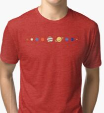 Just Planets Tri-blend T-Shirt