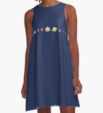 Just Planets A-Line Dress