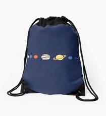 Just Planets Drawstring Bag