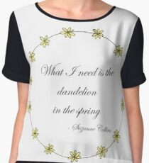 The Hunger Games- Dandelion Women's Chiffon Top