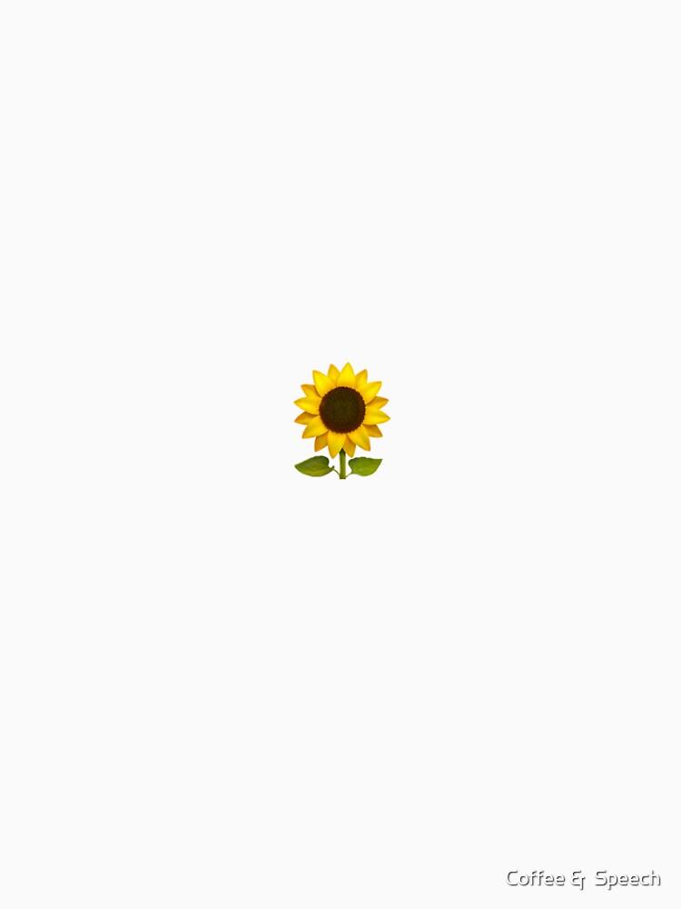 """Sunflower Emoji"" T-shirt by laurencondoluci | Redbubble"