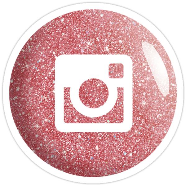 logo instagram rose